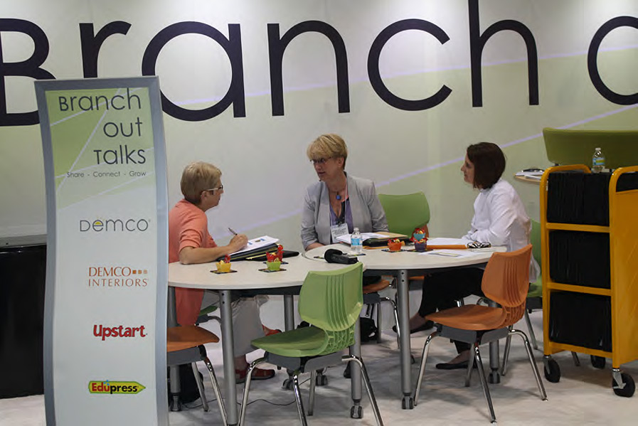 Demco's Branch Out Talks at ALA Chicago
