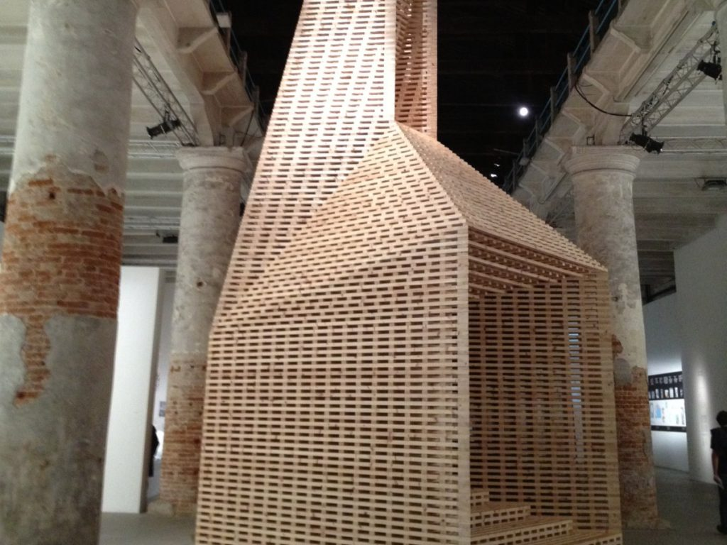 Vessel by O'Donnell + Tuomey Architects at the Venice Biennale in 2012. What a wonderful vessel for reading and exploring!