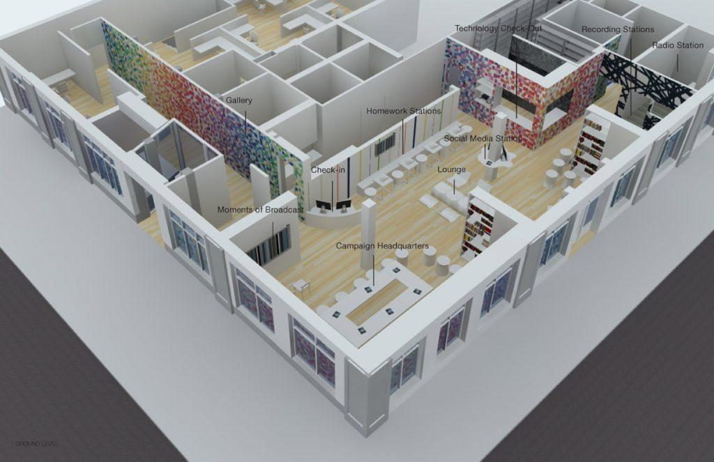 Dreamyard Arts Center: Ground Level Design