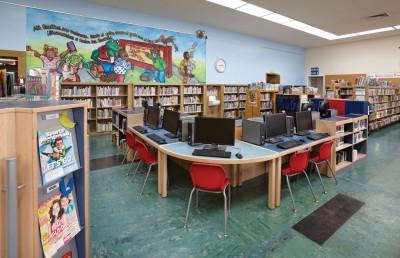 Richmond Public Library, CA