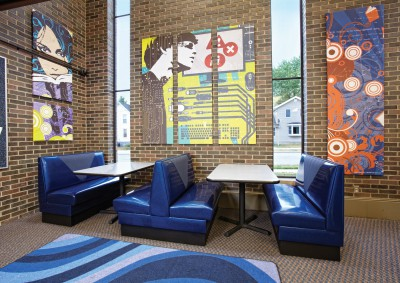 Waupun Public Library Teen Space, WI