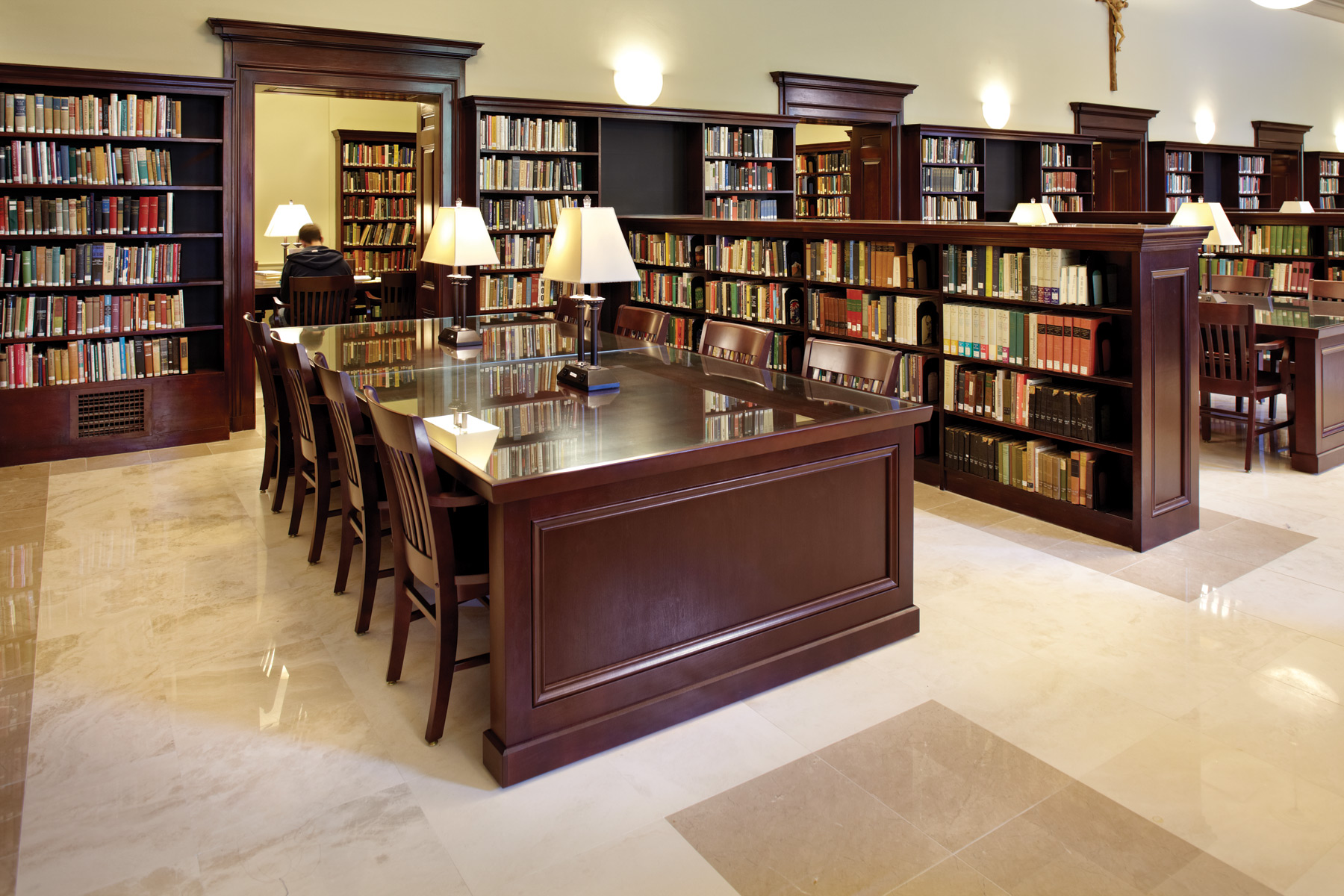Iona College, Ryan Library