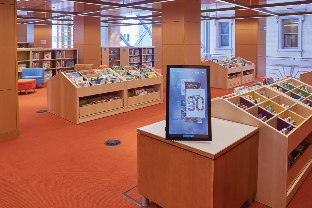 Slover Library - Childrens Digital Signage