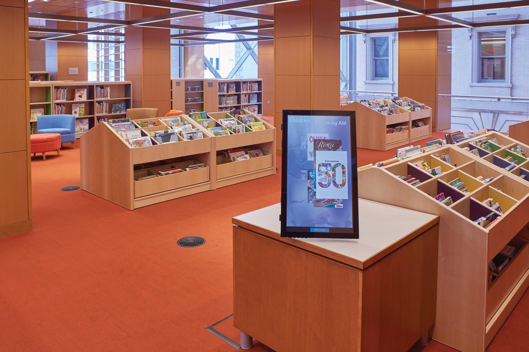 Slover Library - Childrens Digital Signage