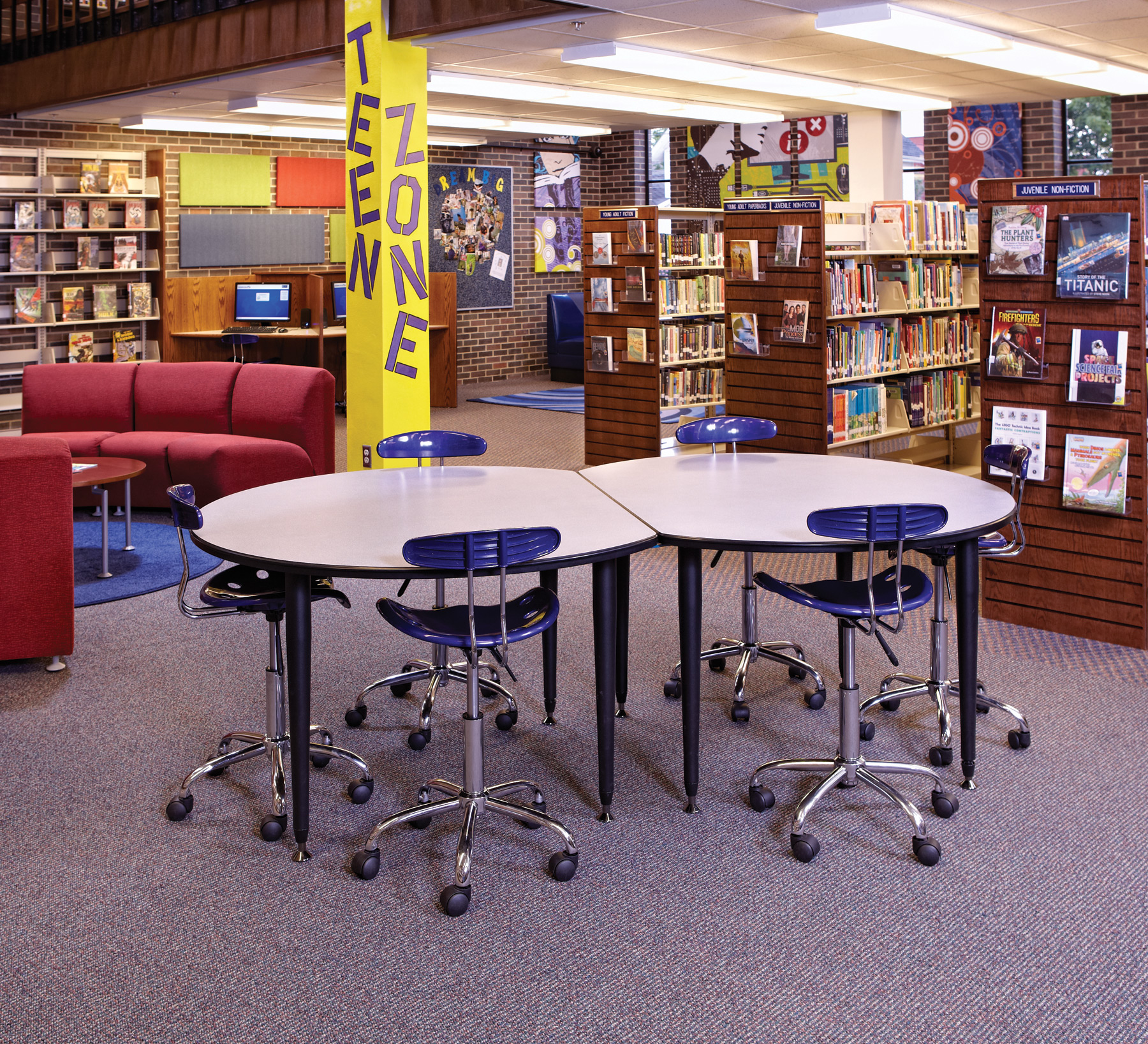 Waupun Public Library Teen Space