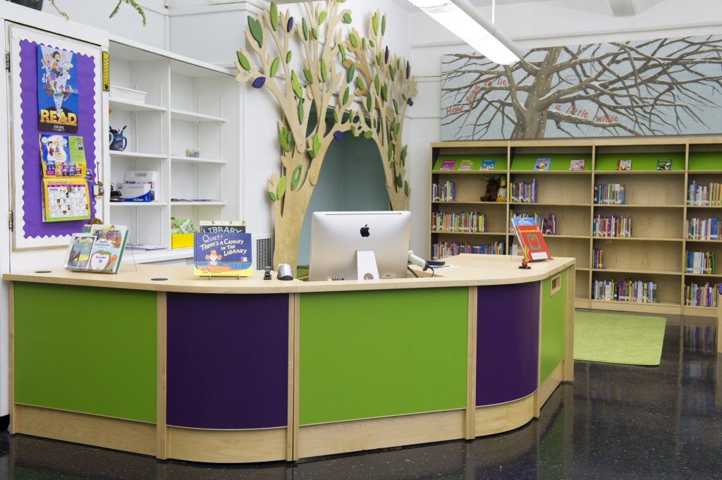 ColorScape® Circulation Desks