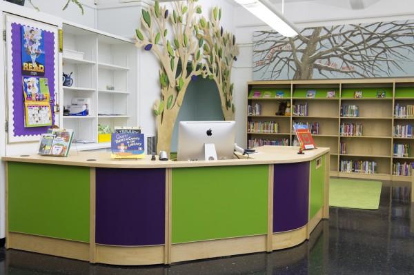 ColorScape Circulation Desk