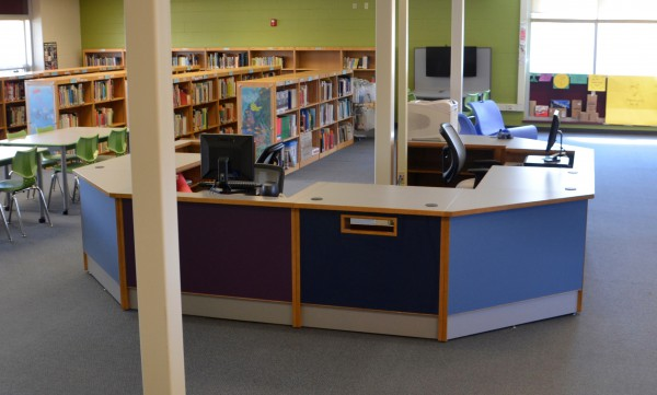 ColorScape Circulation Desk