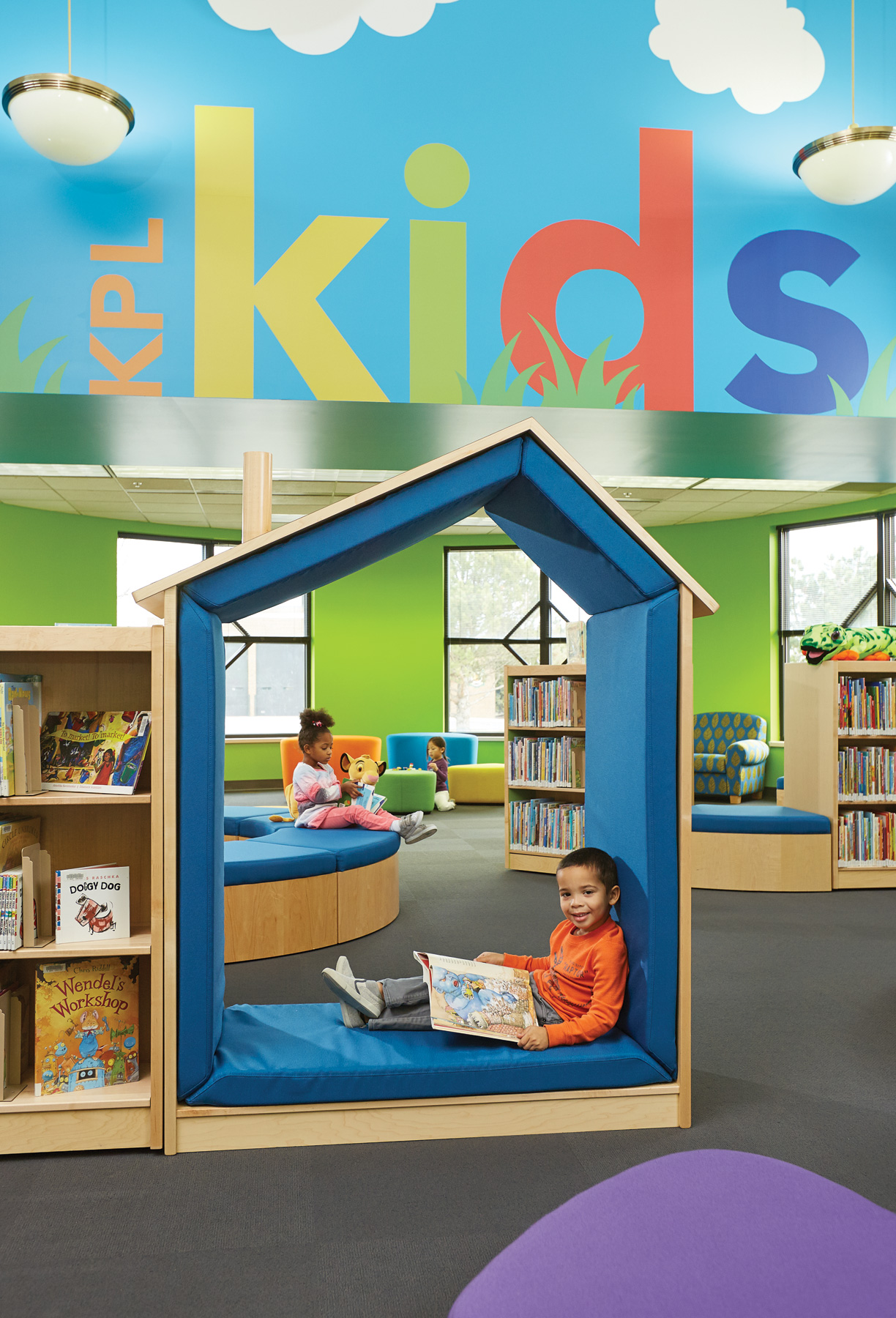 Playroom Color Scheme Kids Play Areas