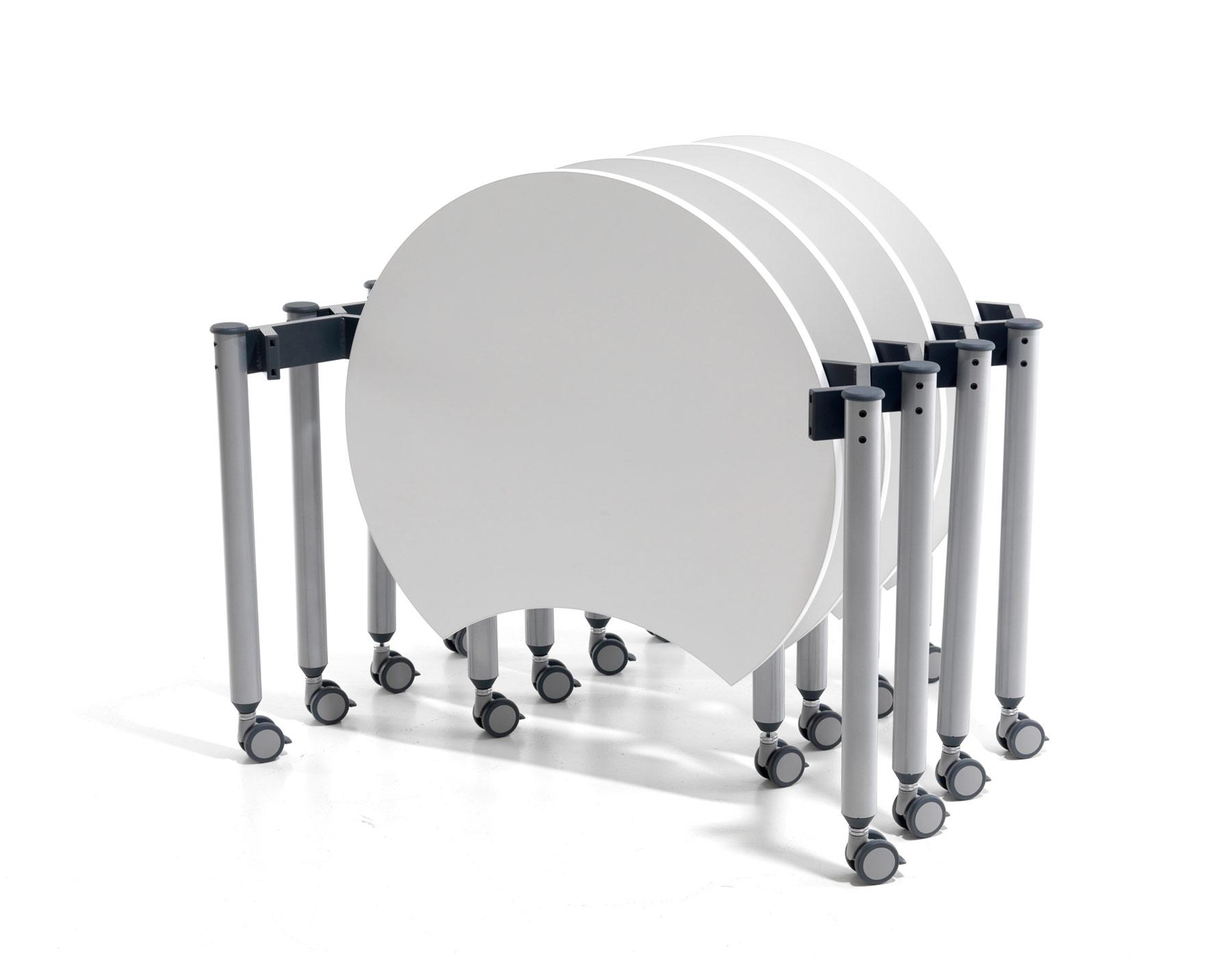 Muzo Kite® Mini Mobile Flip Tables