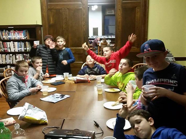 Our Teen Gaming Night program was a success.