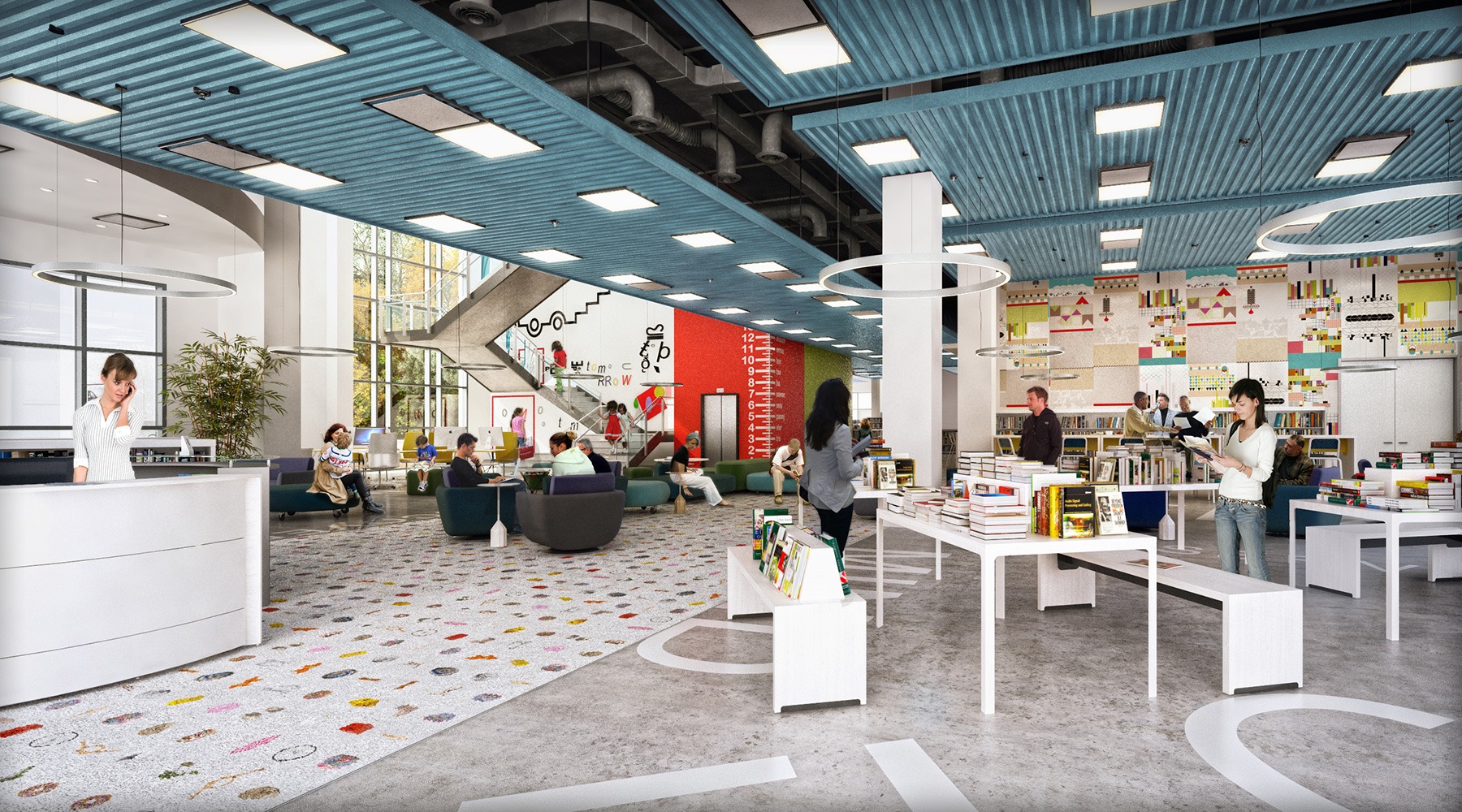 How To Design Spaces For People With >> Designing For Community 10 Essential Library Spaces