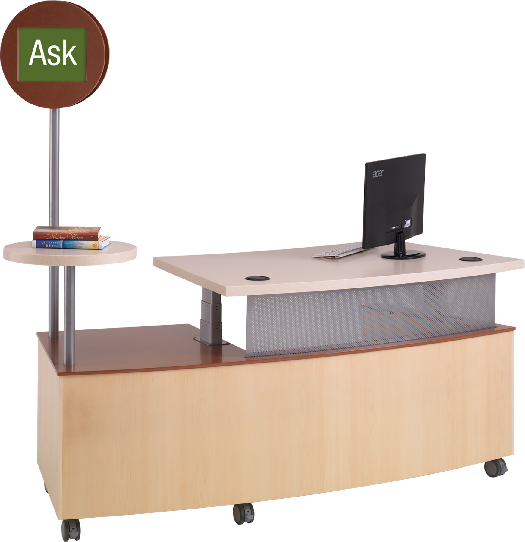 TechnoLink® Mobile Reference Desks