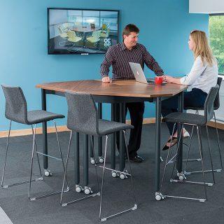 Muzo Tall Kite® Mobile Flip Tables
