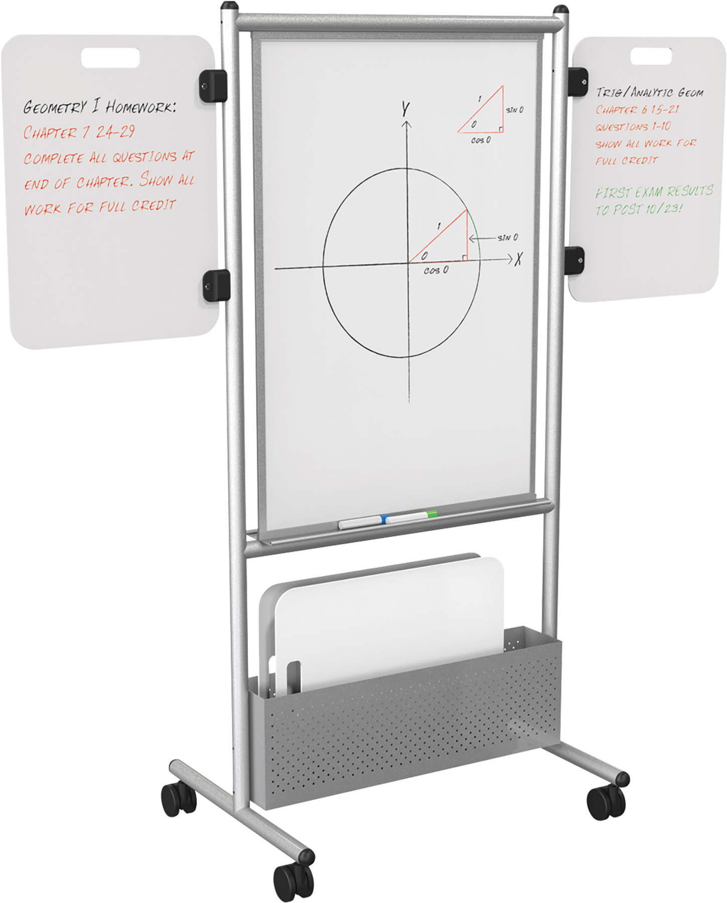 Expanding Nest Mobile Markerboards