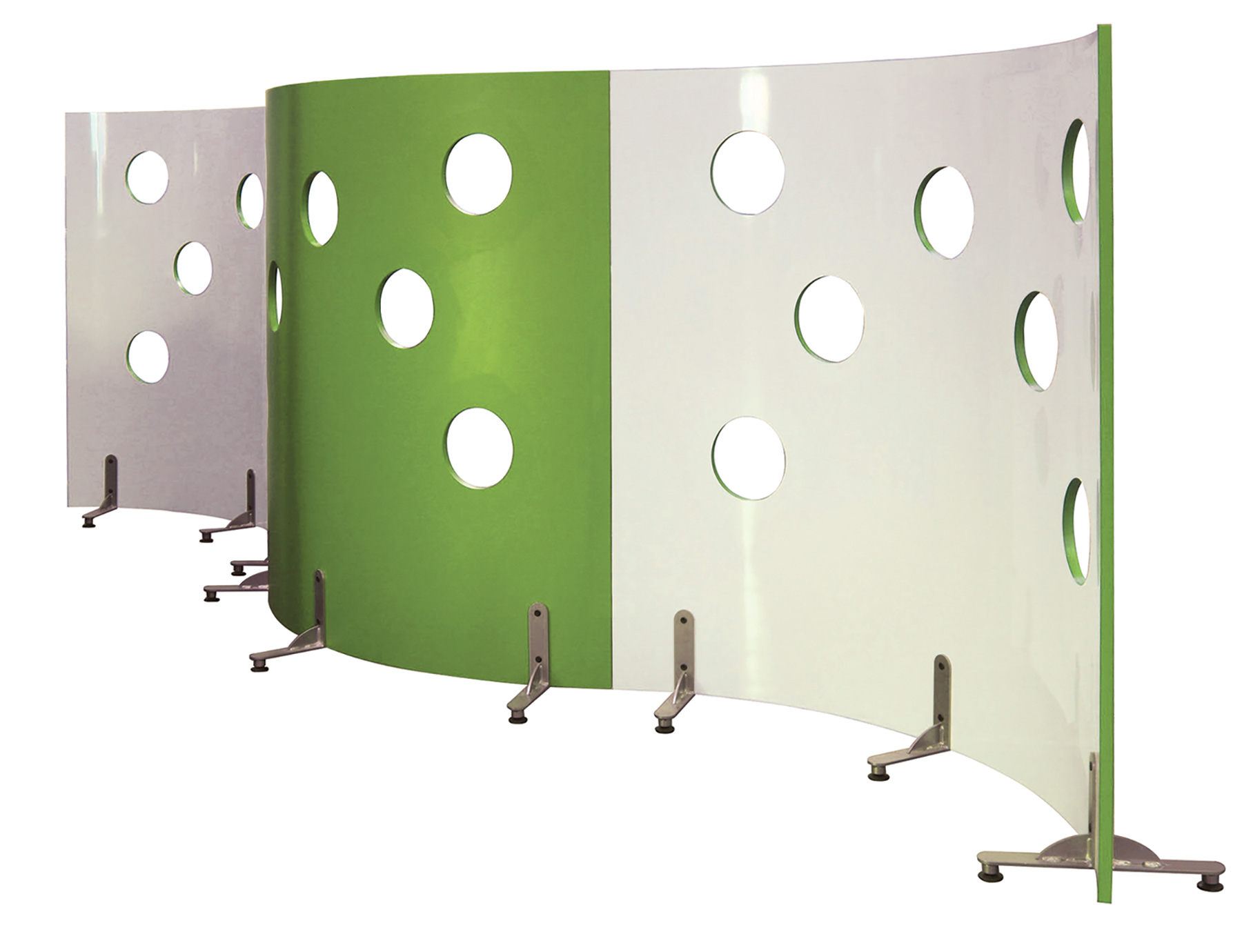 Mediatechnologies® Cheesewall Divider With Observation Ports