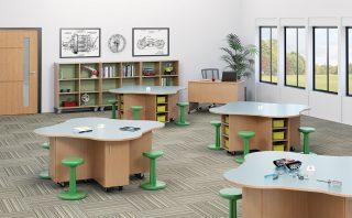 Mobile STEM Table Stations