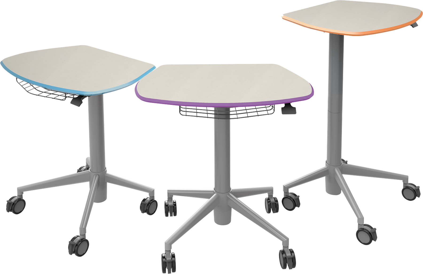 Smith System™ Sit & Stand Student Desks