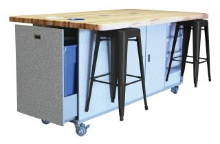 The Ed Table & Stool Sets