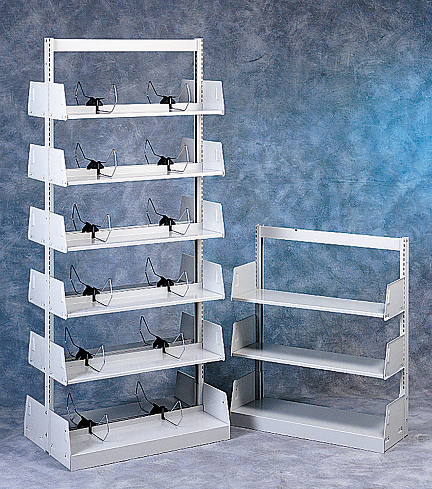 Demco® Steel Cantilever Library Shelving