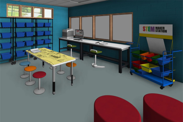 Makerspace: Medium Creator Cove