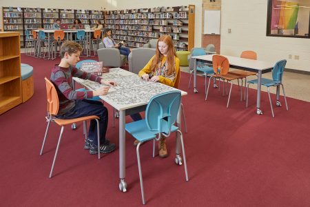 How Library Furniture, Space Design, and Technology Support Informal Learning