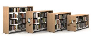 End Panels for Demco® Mobile Steel Shelving