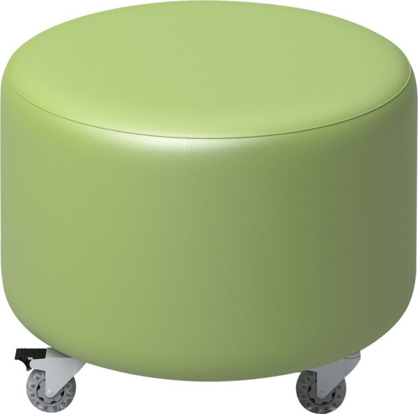 ColorScape® Soft Seating - Round Ottoman
