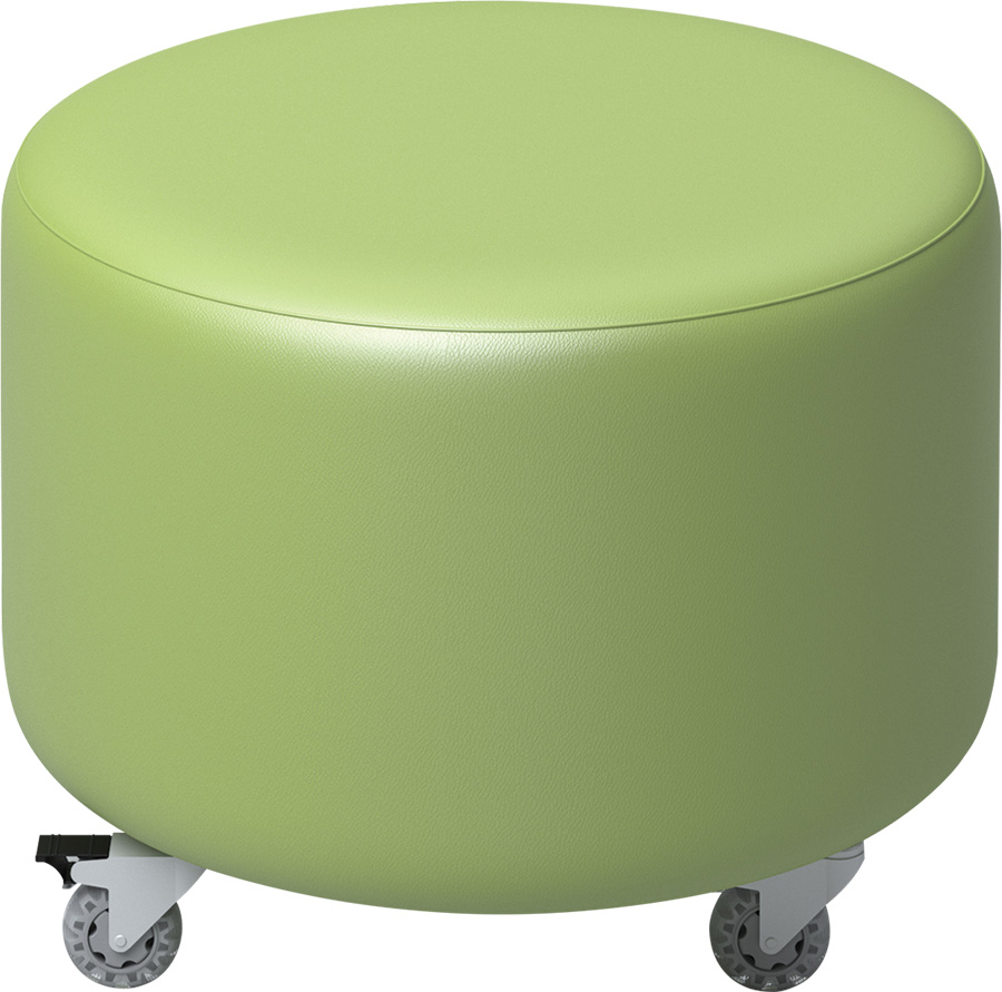 ColorScape® Soft Seating – Round Ottoman