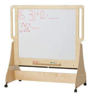 "Demco® Mobile Build ""n"" Write Board"