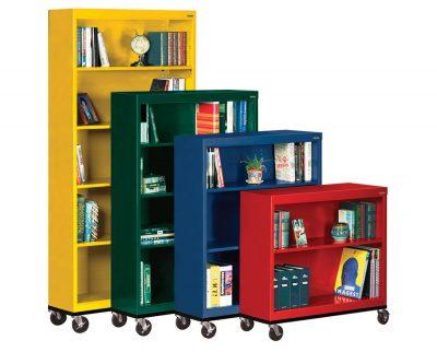 Sandusky Lee® Heavy-duty Mobile Bookcases