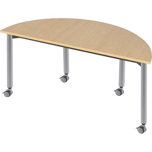 Muzo Kite® 750 Series Mobile Tables — Semi-circle