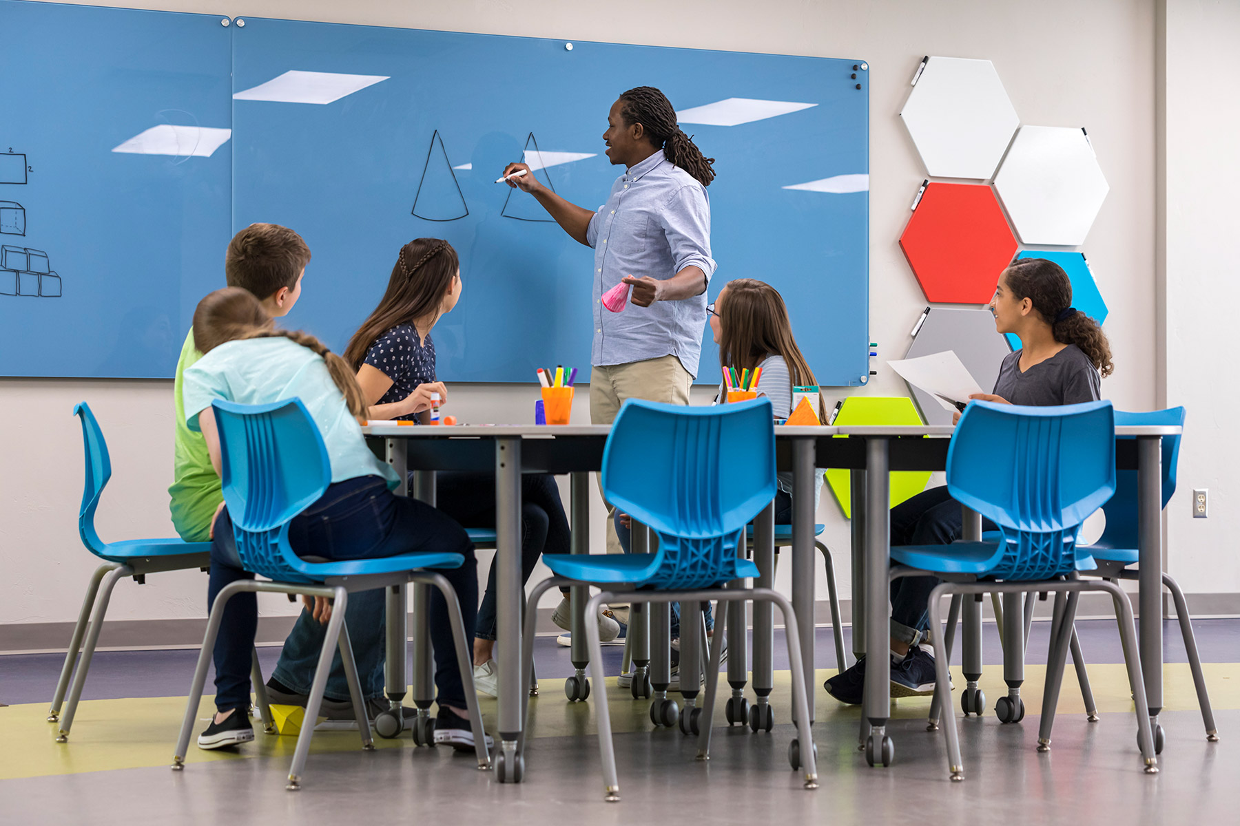 Student and Teacher Voices in Learning Space Design