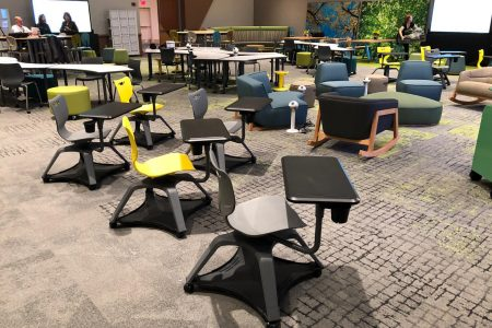 Award-Winning EDspaces Classroom Using Biophilic Design