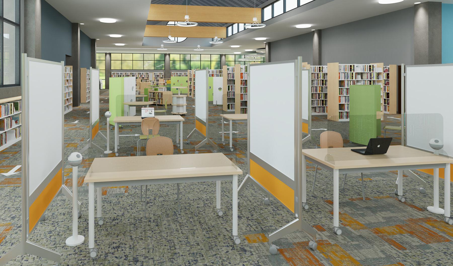 Public Library Social Distancing