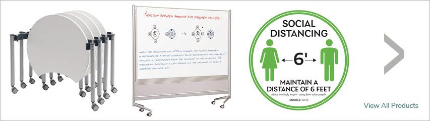 Social Distancing Product Rotation