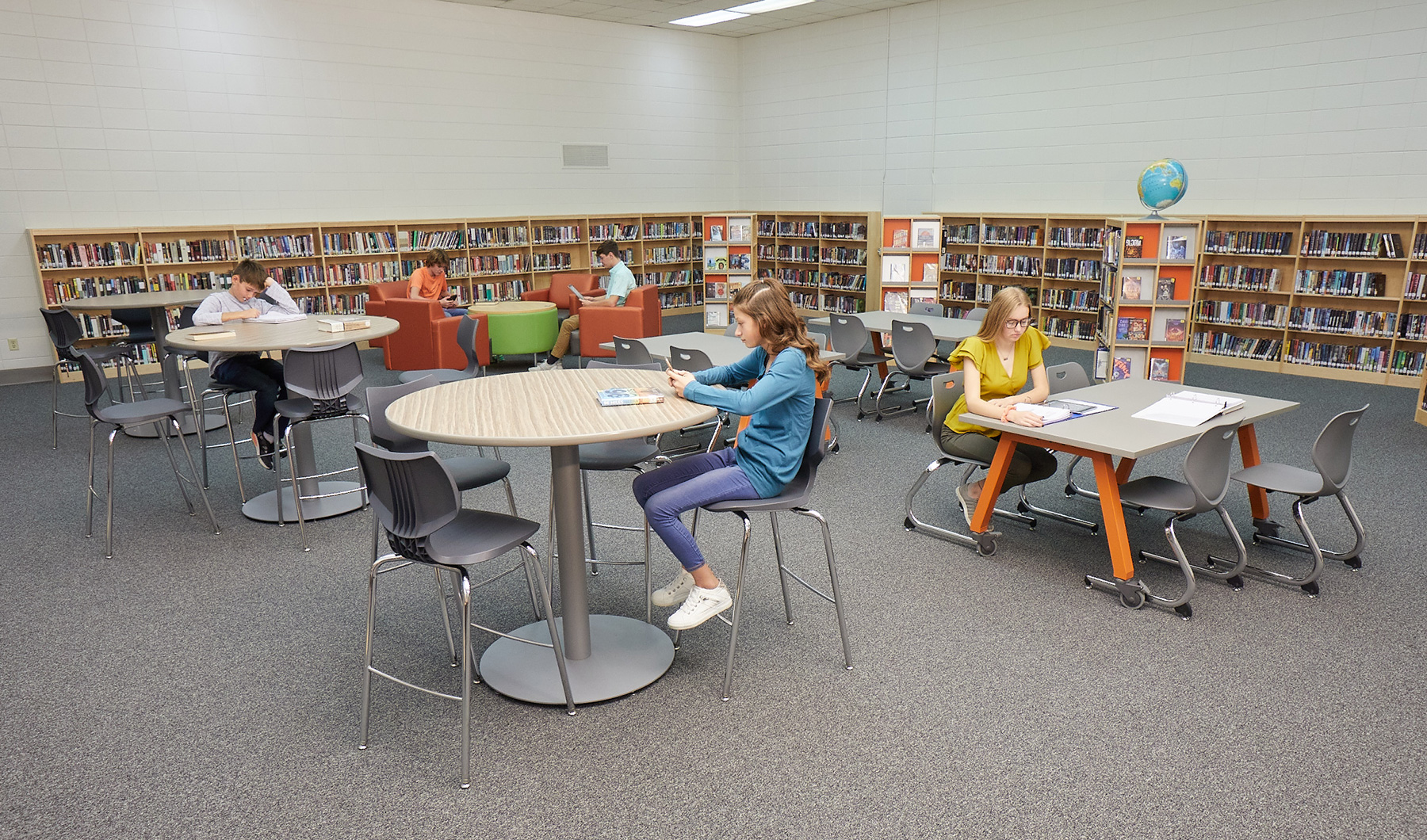 Horicon Library HS