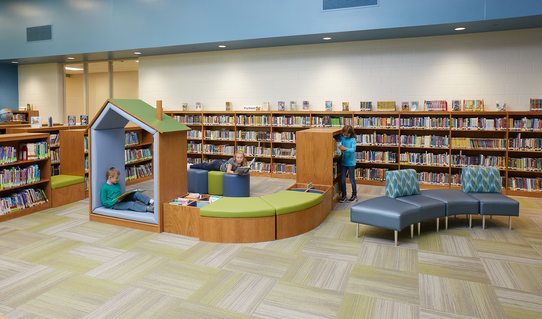 Horicon Library Lounge