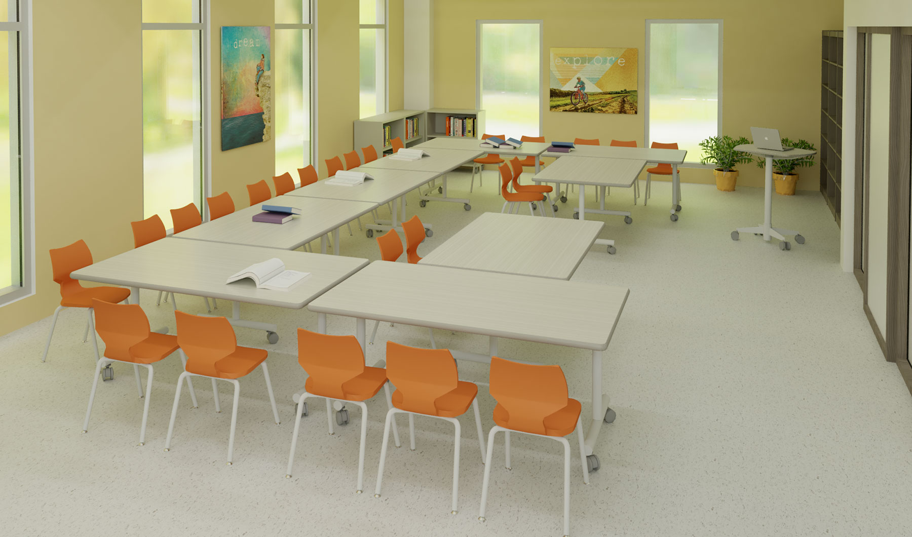 'Iolani Lower School Religion Room