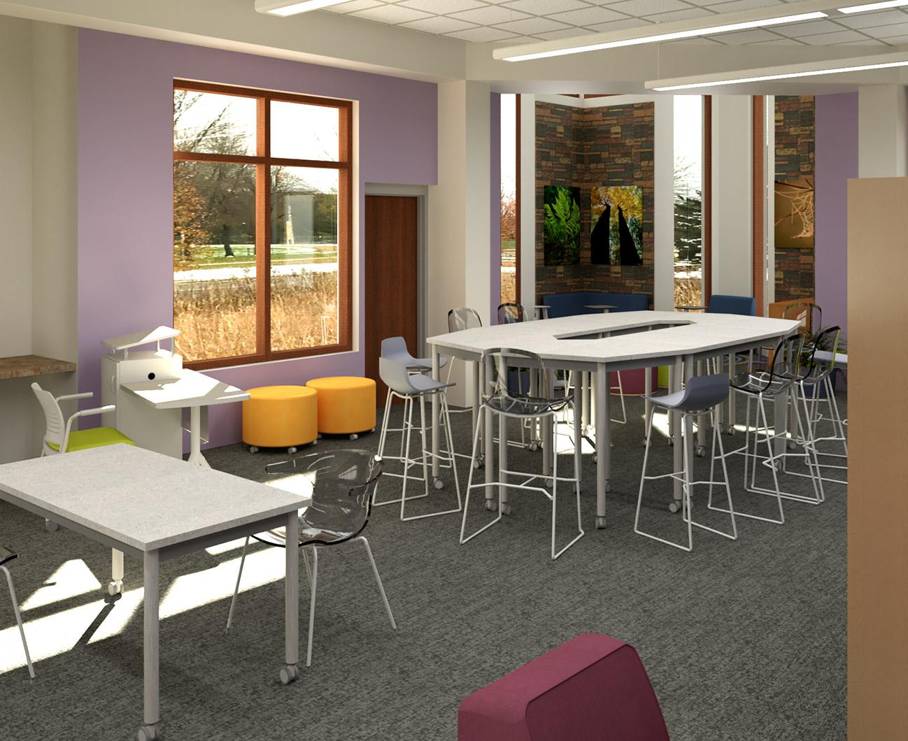 Sun Prairie Public Library Teen Space