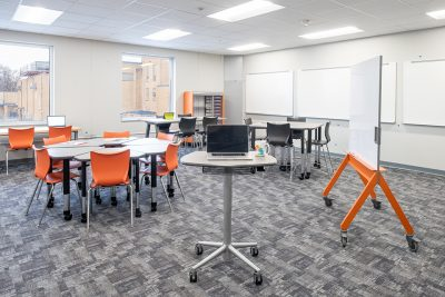 School design for the future includes flexible arrangements.