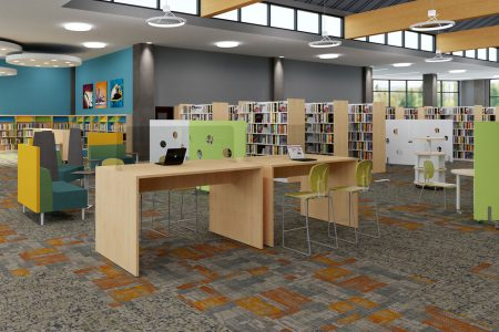 Public Library Coworking Space