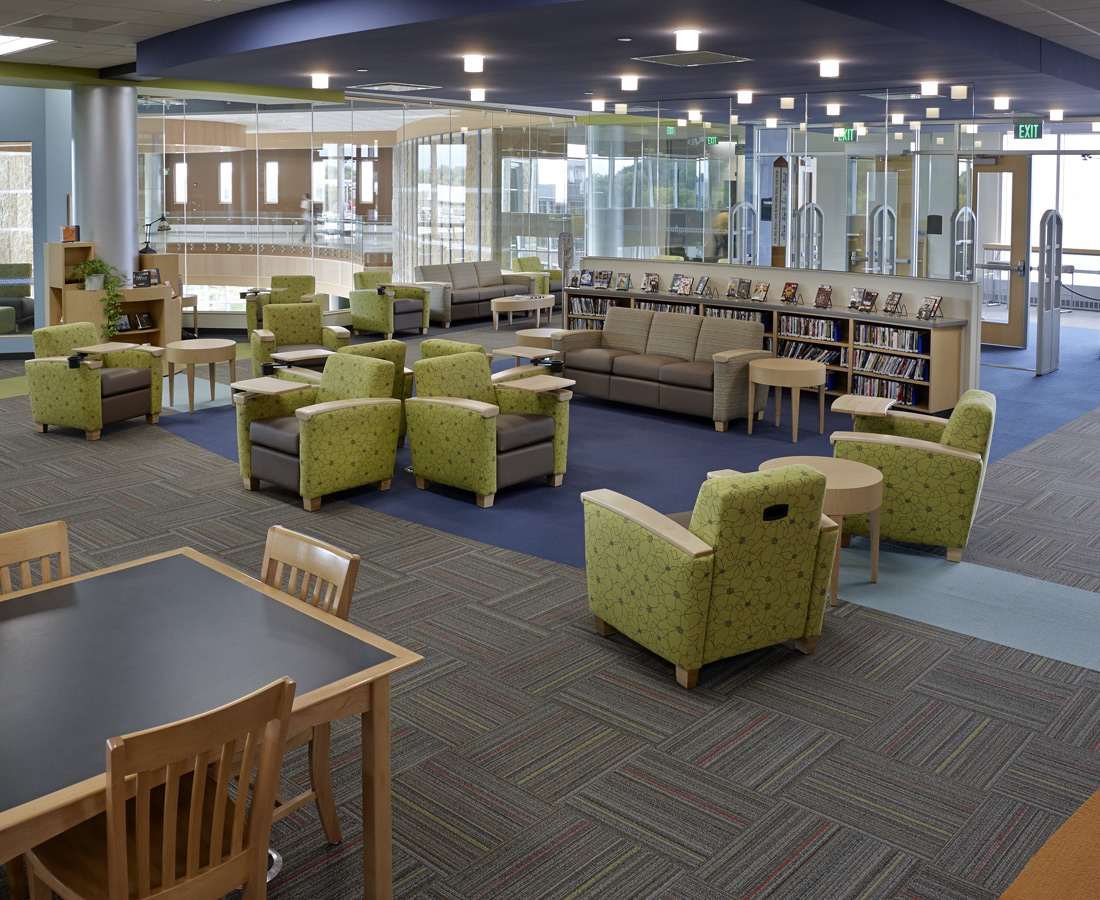 Library design for mobile device users for Best furniture pictures