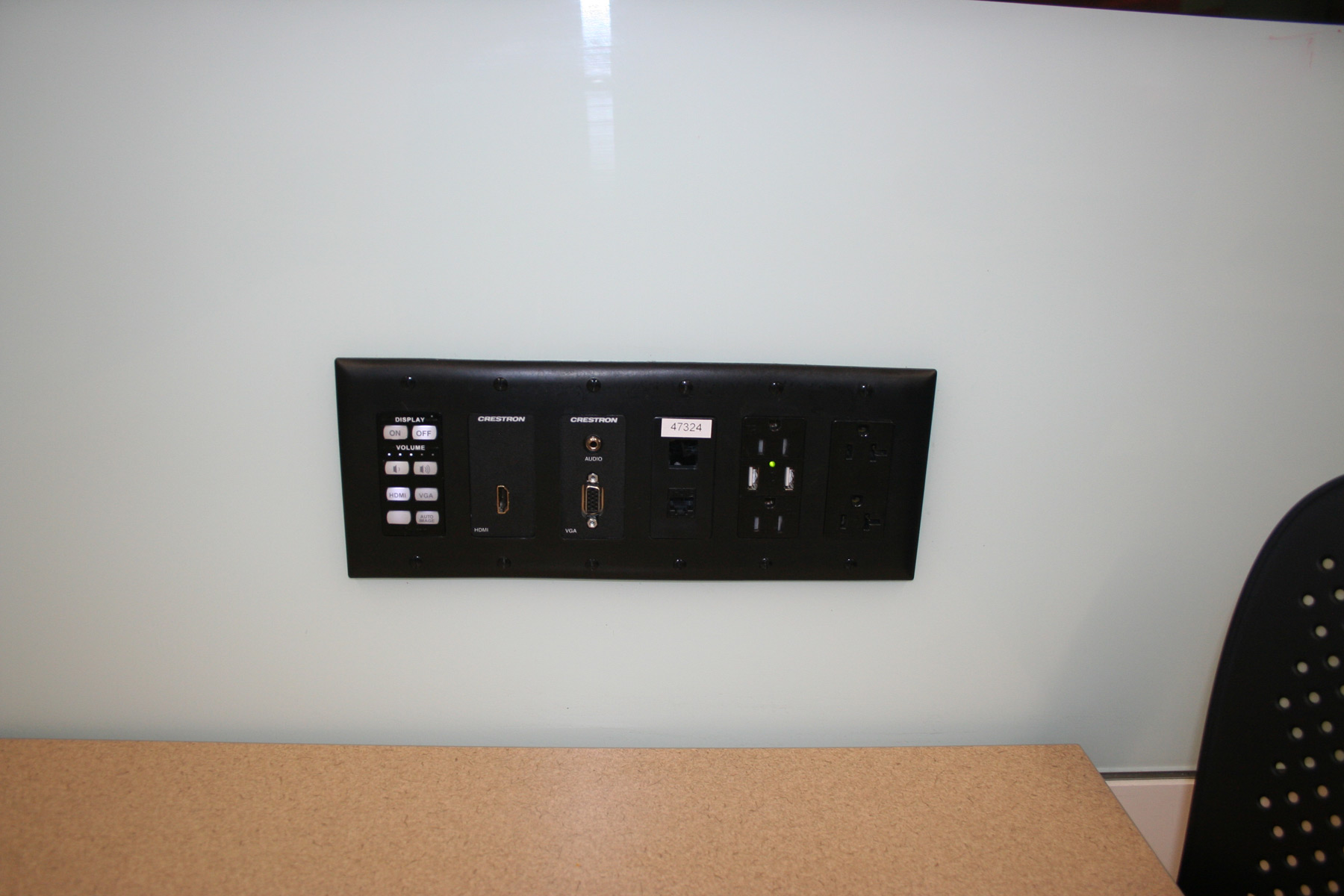 Library Design For Mobile Device Users Simple Electrical Electronics Projects Input Panel On The Wall Provides Easy Plug In At University Of Iowas