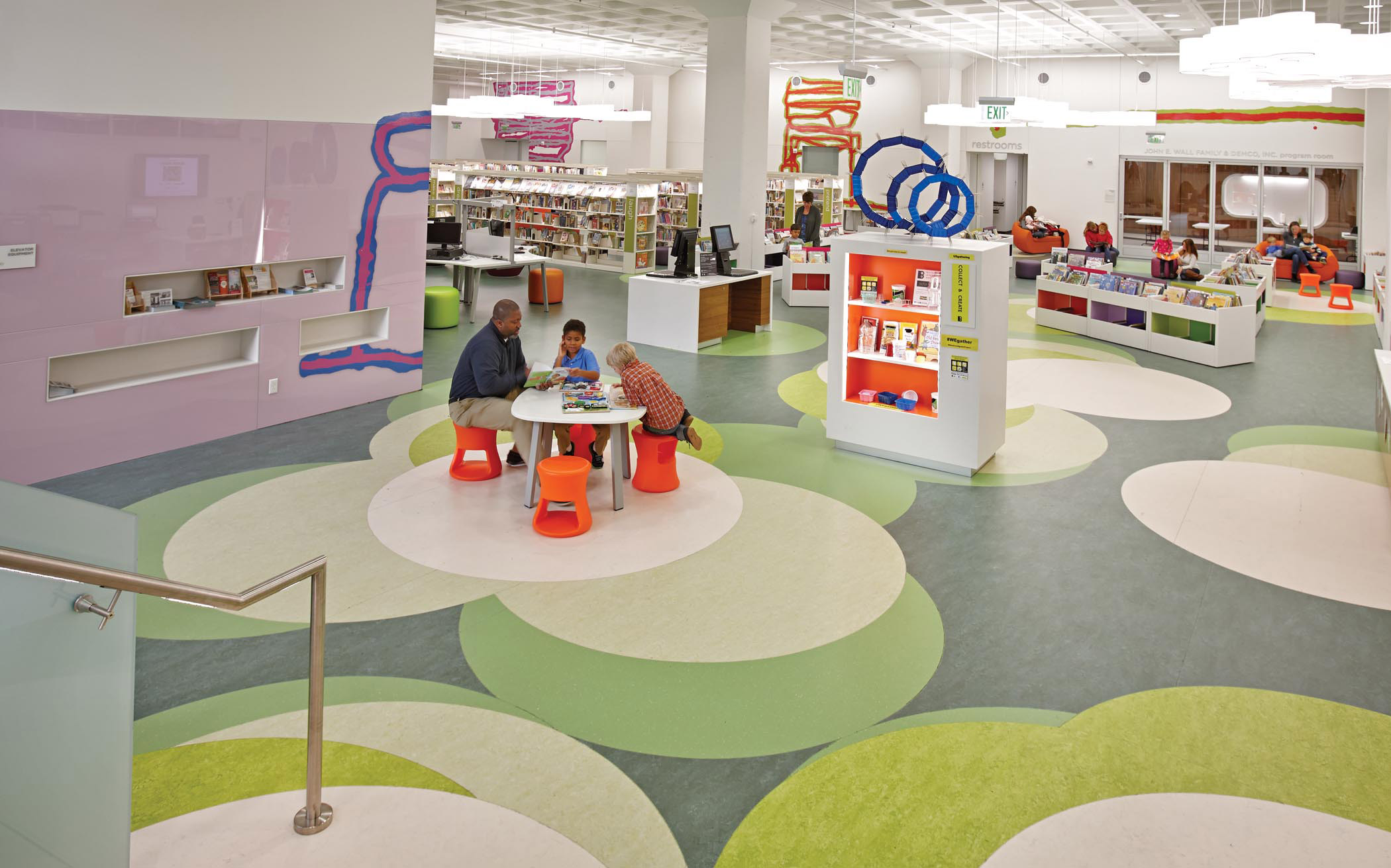 Madison Central Library Wi Http Www Demcointeriors Com