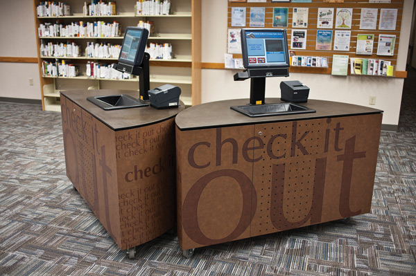 Self Service Kiosks To Replace A Traditional Circulation Desk