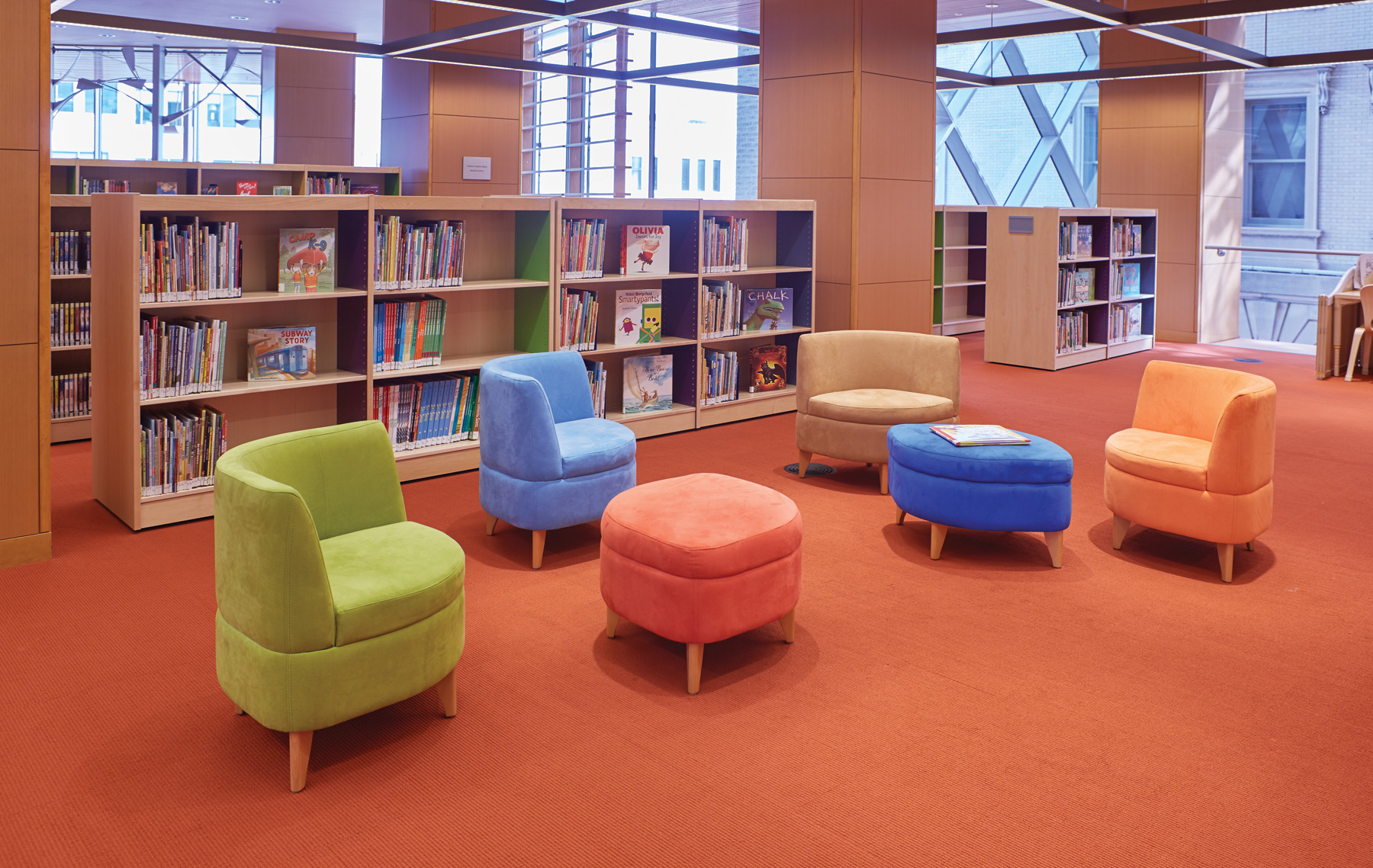 Take the Mystery Out of Choosing Colors and Fabrics for Library ...