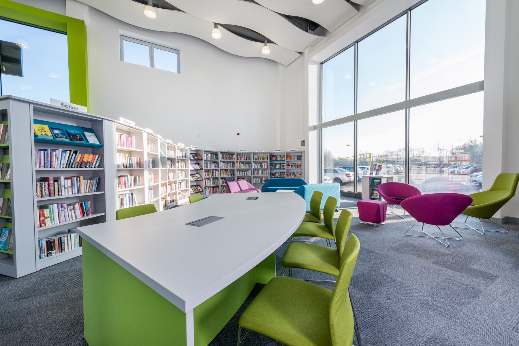 Kingston Library, Milton Keynes, UK