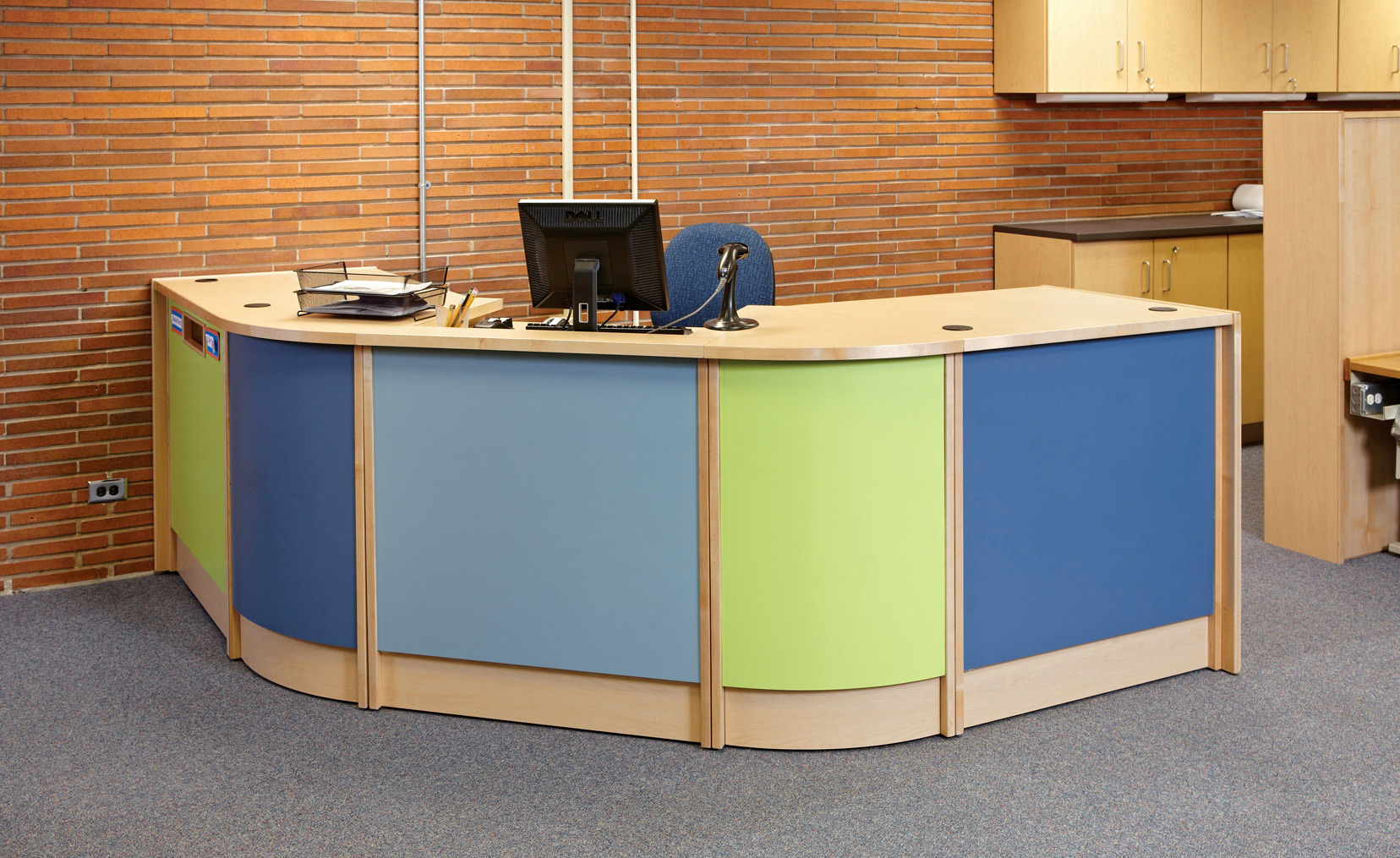 Colorscape circulation desks httpdemcointeriors colorscape circulation desk publicscrutiny Choice Image