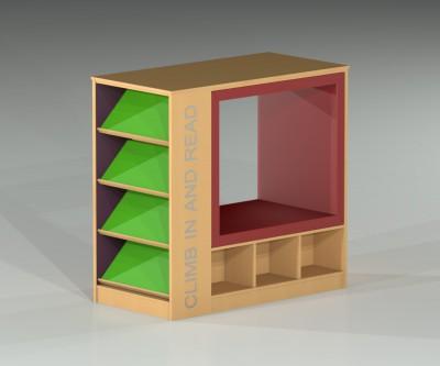 ColorScape Playpod Cube with Storage